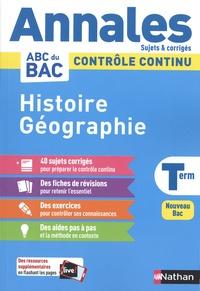 Cécile Vidil - Histoire Géographie Tle.
