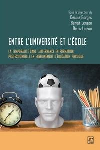Cecília Borges - Entre l'université et l'école : la temporalité dans l'alternance en formation professionnelle en enseignement d'éducation physique.