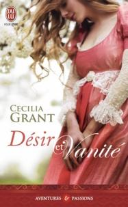 Cecilia Grant - Désir et vanité.