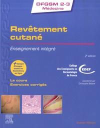 CEDEF et Christophe Bédane - Revêtement cutané - Enseignement intégré.