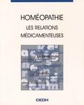 CEDH International - Homéopathie - Les relations médicamenteuses.