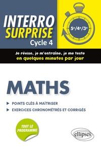 Mathématiques cycle 4- Tout le cours en 128 questions/réponses et 400 exercices chronométrés et corrigés - Cédric Bertone | Showmesound.org