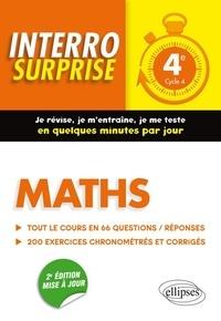 Maths 4e Cycle 4- Tout le cours en 66 questions/réponses et 200 exercices chronométrés et corrigés - Cédric Bertone   Showmesound.org