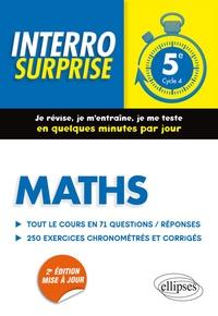 Accentsonline.fr Maths 5e Cycle 4 - Tout le cours en 71 questions/réponses et 250 exercices chronométrés et corrigés Image