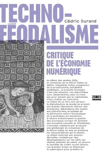 Techno-féodalisme. Critique de l'économie numérique