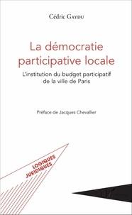 Era-circus.be La démocratie participative locale - L'institution du budget participatif de la ville de Paris Image