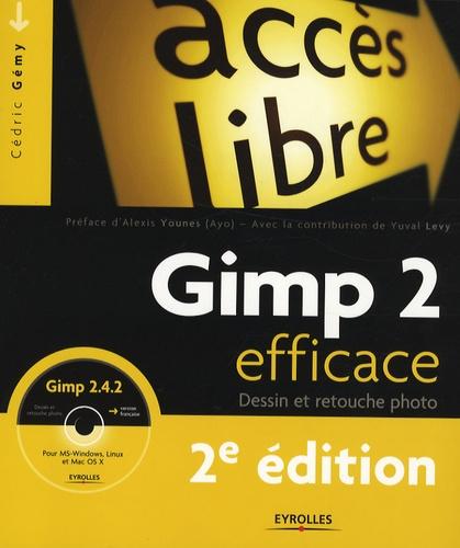 Cédric Gémy - Gimp 2 efficace - Dessin et retouche photo. 1 Cédérom