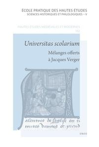 Universitas scolarium - Mélanges offerts à Jacques Verger par ses anciens étudiants.pdf