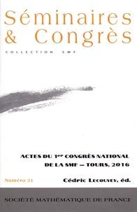 Galabria.be Actes du 1er Congrès national de la SMF - Tours, 2016 Image