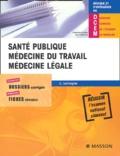 Cédric Lemogne - Santé publique, médecine du travail, médecine légale.