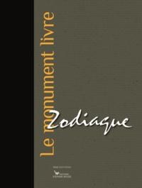 Cédric Lesec - Zodiaque - Le monument livre.