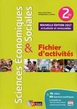 Cédric Passard et Pierre-Olivier Perl - Sciences économiques et sociales 2de - Fichier d'activités.
