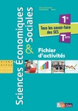 Cédric Passard et Pierre-Olivier Perl - Sciences Economiques & Sociales 1re-Tle - Fichier d'activités.