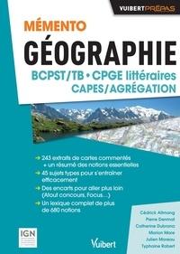 Cédrick Allmang - Mémento géographie BCPST CPGE littéraires CAPES/Agrégation.