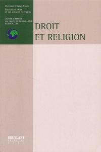 Deedr.fr Droit et religion - Colloque de Beyrouth, Mai 2000 Image