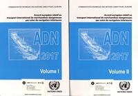 CEE-ONU - Accord européen relatif au transport international de marchandises dangereuses par voies de navigation intérieures (ADN) - 2 volumes.