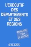 CEEPP - L'exécutif des départements et des régions.