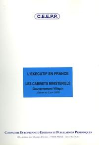 CEEPP - L'exécutif en France : les cabinets ministériels - Gouvernement Villepin (décret du 2 juin 2005).