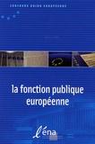 CEES - La fonction publique européenne.