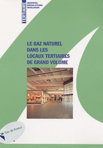 Cegibat - Le gaz naturel dans les locaux tertiaires de grand volume.