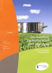 Cegibat - Les matériels de la restauration professionnelle au service de la qualité environnementale.