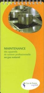 Cegibat - Maintenance des appareils de cuisson professionnelle au gaz naturel.
