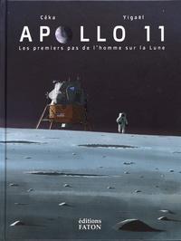 Céka et  Yigaël - Apollo 11 - Les premiers pas de l'homme sur la Lune.