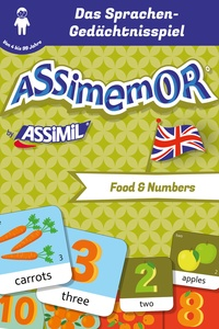 Céladon et Léa Fabre - Assimemor - Meine ersten englischen Wörter: Food and Numbers.