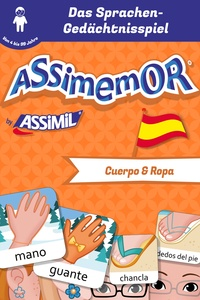 Céladon et Léa Fabre - Assimemor - Meine ersten Wörter auf Spanisch: Cuerpo y Ropa.