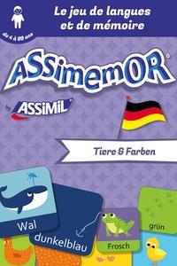 Céladon et Jean-Sébastien Deheeger - Assimemor – Mes premiers mots allemands : Tiere und Farben.