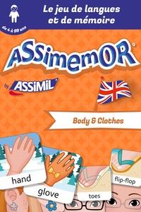 Céladon et Léa Fabre - Assimemor – Mes premiers mots anglais : Body and Clothes.