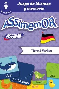 Céladon et Jean-Sébastien Deheeger - Assimemor - Mis primeras palabras en alemán: Tiere und Farben.