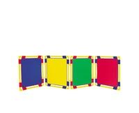 Celda - Cloison carrée jaune 78 x 78cm.