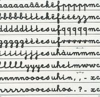 Celda - Lettres majuscules.