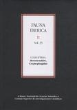 Angeles Ramos Sanchez - Fauna iberica N° 35 : Coleoptera, Monotomidae, Cryptophagidae.