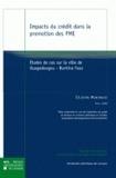 Célestin Murengezi - Impacts du crédit dans la promotion des PME - Etudes de cas sur la ville de Ouagadougou, Burkina Faso.