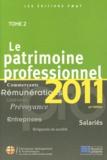 Célia Cuvillier - Le patrimoine professionnel 2011 - Tome 2.