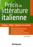 Célia Filippini - Précis de littérature italienne.