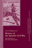 Celia m. Wallhead - Writers of the Spanish Civil War - The Testimony of their Auto/Biographies.
