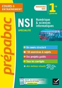 Céline Adobet et Guillaume Connan - NSI 1re générale. Spécialité (Numérique et sciences informatiques) - Prépabac - nouveau programme de Première (2020-2021).