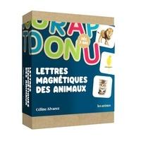 Céline Alvarez - Coffret Lettres magnétiques des animaux.