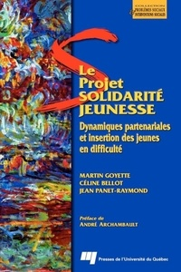 Céline Bellot - Le Projet Solidarité jeunesse : dynamiques partenariales et insertion des jeunes en difficulté.