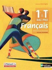 Céline Chalonges et Emmanuelle Fichaux - Français 1re & Tle Bac Pro Entre-Lignes.