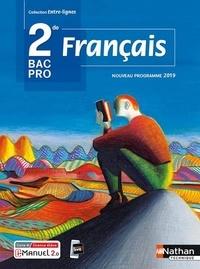 Céline Chalonges et Emmanuelle Fichaux - Francais 2de Bac pro Entre-lignes.