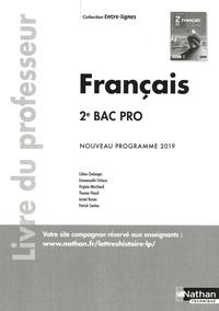 Céline Chalonges et Emmanuelle Fichaux - Français 2de Bac Pro Entre-lignes - Livre du professeur.