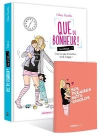 Céline Charlès - Que du bonheur ! (ou presque...) Tome 2 : Trois fois plus de bonheur... et de fatigue ! - Avec 1 carnet Ses premiers mots rigolos.