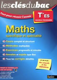 Céline Chevalier et Nicole Coraboeuf - Maths Tle ES - Enseignement spécifique et spécialité.