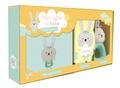 Céline Claire et Isabel Aniel - Mon coffret de bébé Petit lapin - Contient : 1 imagier en tissu, 1 hochet, 1 livre carton.