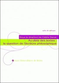 Histoiresdenlire.be Au-delà des textes : la question de l'écriture philosophique Image