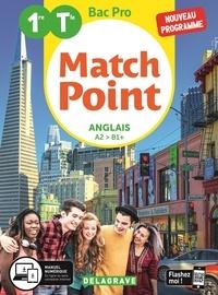 Céline Devif - Anglais 1re/Tle Bac Pro Match Point - Pochette élève.